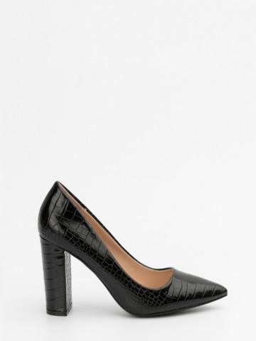 Pantofi cu toc cod 4029 Black
