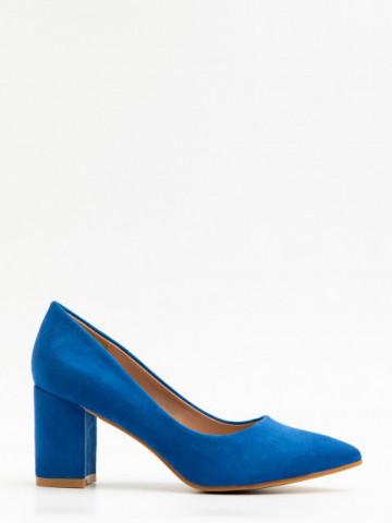 Pantofi cu toc cod X21-238 Blue