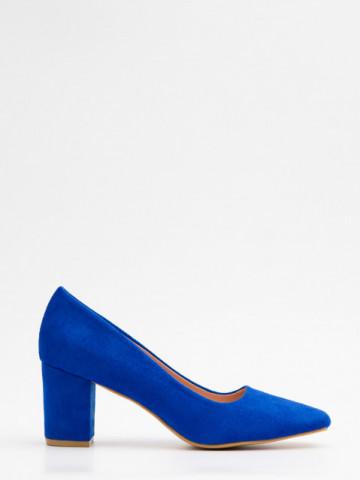 Pantofi cu toc cod X21-731 Blue