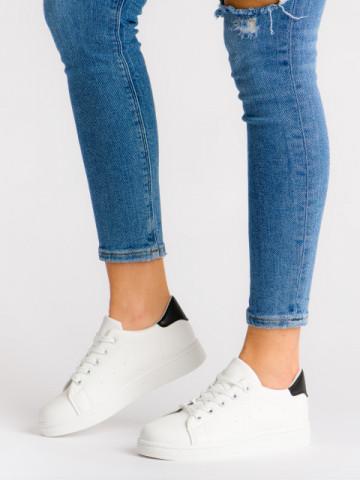 Pantofi sport cod 118-1 White/Black