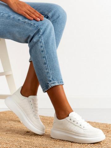 Pantofi sport cod 20C12 White