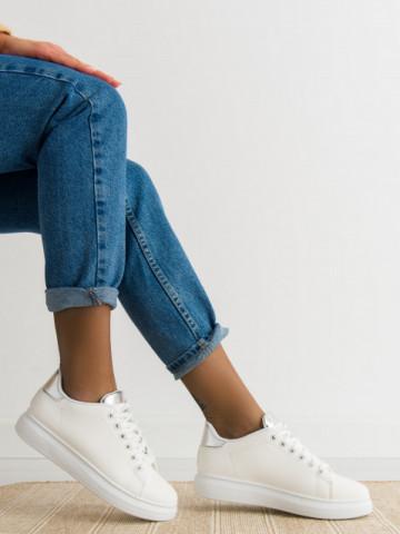 Pantofi sport cod 23-29 White/Silver