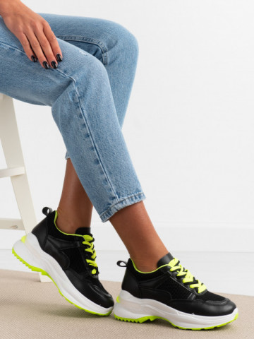 Pantofi sport cod 23-53 Black
