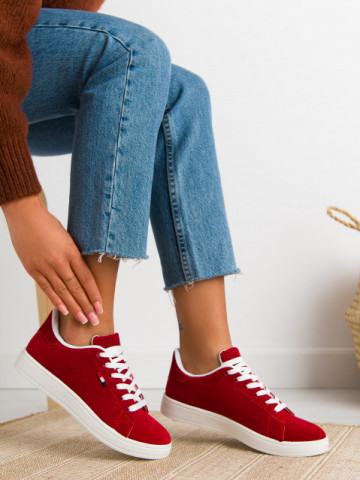 Pantofi sport cod 455 Red