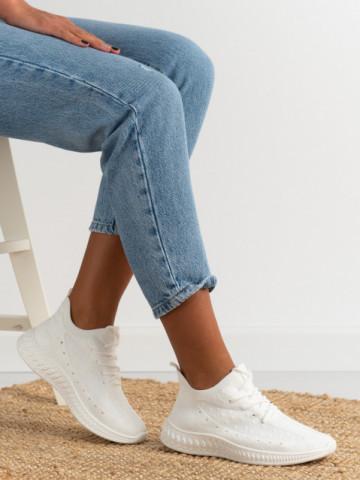 Pantofi sport cod 7819 White
