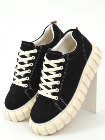 Pantofi sport cod 85-737 Black