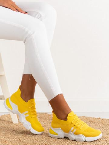 Pantofi sport cod 86002 Yellow