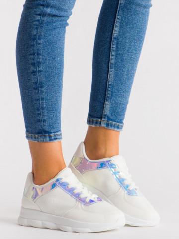 Pantofi sport cod 952-6 White