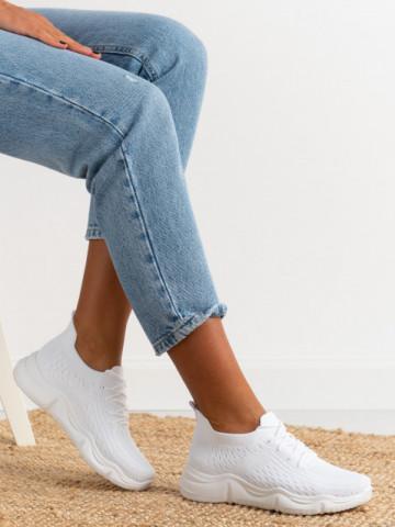 Pantofi sport cod A88-78 White