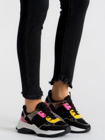 Pantofi sport cod ABC-293 Black