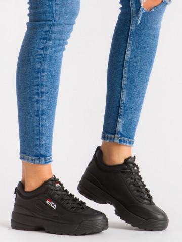 Pantofi sport cod ABC-305 Black