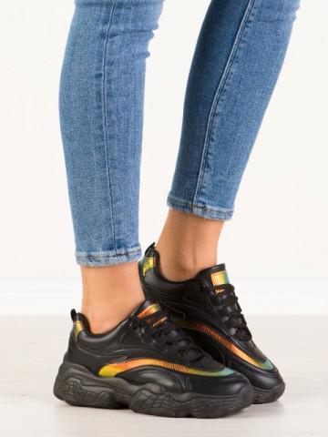 Pantofi sport cod B17 Black