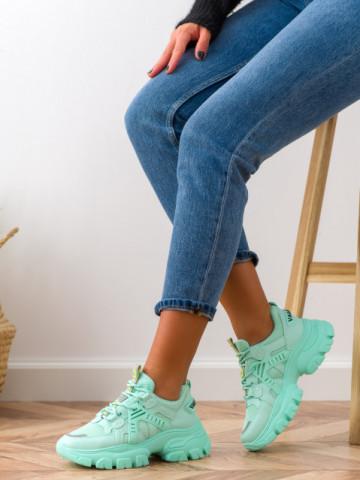 Pantofi sport cod BK05 Green