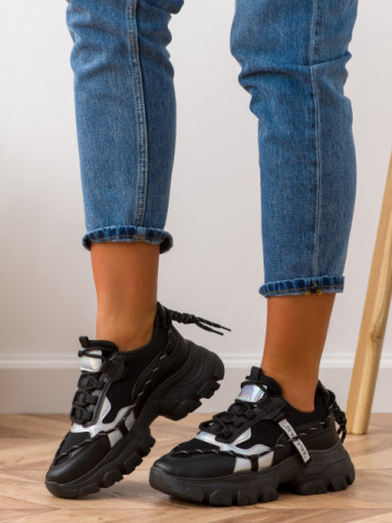 Pantofi sport cod BK12 Black