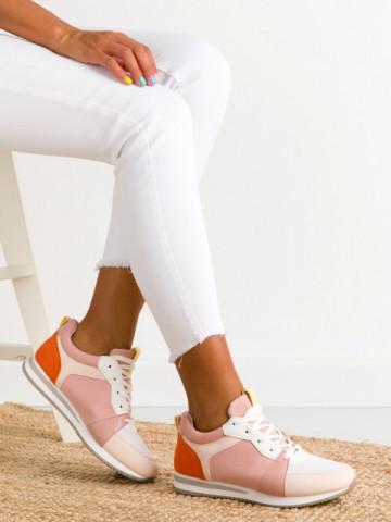 Pantofi sport cod BO546 Pink