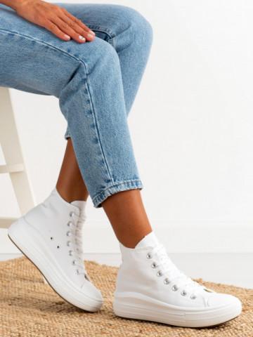 Pantofi sport cod D002 White