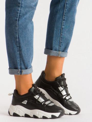 Pantofi sport cod D20 Black