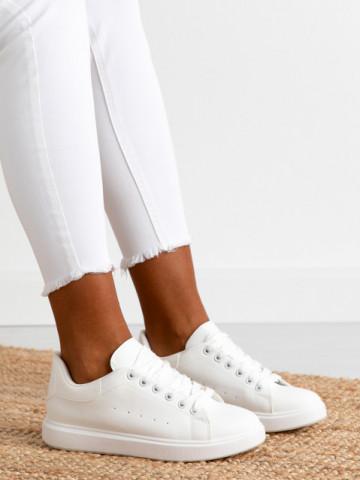 Pantofi sport cod D765 White