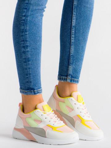 Pantofi sport cod GB77 Pink
