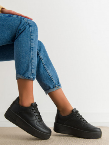 Pantofi sport cod J190 Black