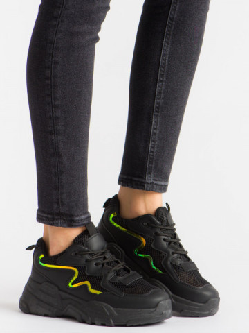 Pantofi sport cod KR-001 Black