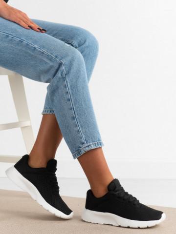 Pantofi sport cod L621 Black/White