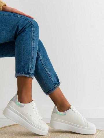 Pantofi sport cod LA36 Silver