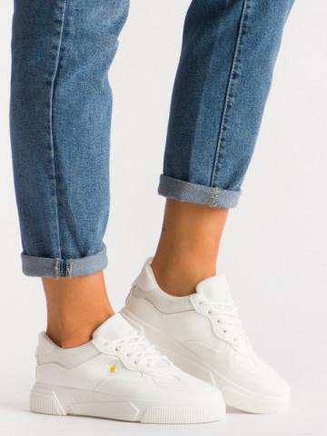Pantofi sport cod N96 White