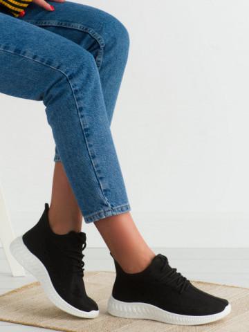 Pantofi sport cod PC01 Black/White