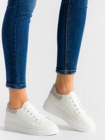 Pantofi sport cod T01 White/Grey
