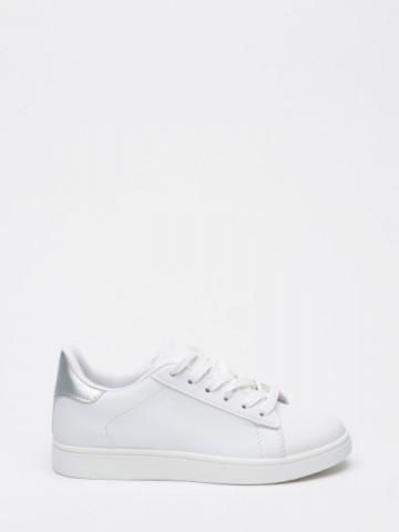 Pantofi sport cod YKQ117 White/Silver