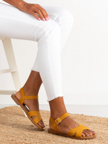 Sandale cod 11-27 Yellow