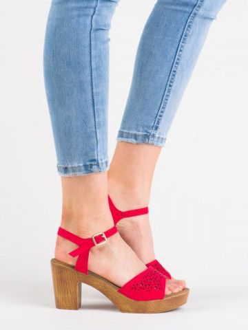 Sandale cod 3A386-11 Red