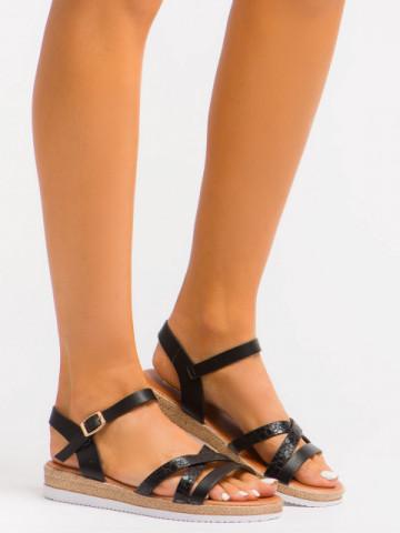 Sandale cod A1117 Black
