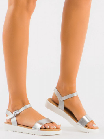 Sandale cod B35 Silver