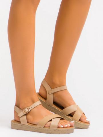 Sandale cod C1071 Beige