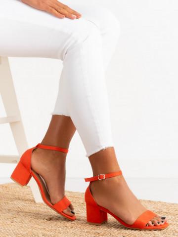 Sandale cu toc cod QL158 Red