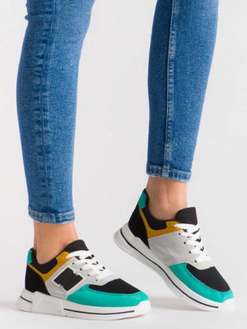 Pantofi sport cod ABC-311 Green