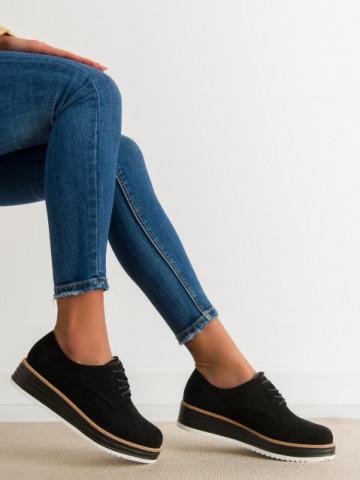 Pantofi casual cod 8998-45 Black