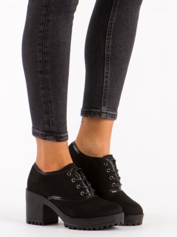 Pantofi casual cod 8F71 Black