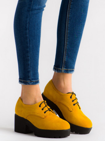 Pantofi casual cod HX-02 Yellow