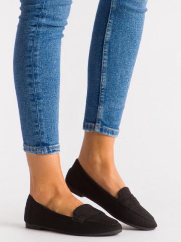 Pantofi casual cod L6392 Black