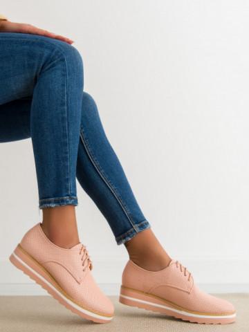 Pantofi casual cod T58 Pink