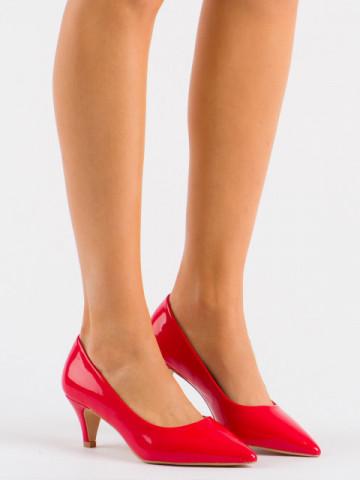 Pantofi cu toc cod 1003 Red