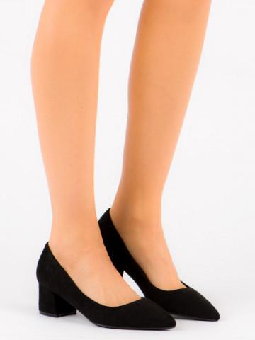 Pantofi cu toc cod FM3030 Black