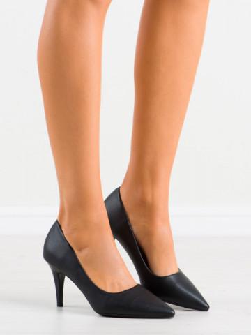 Pantofi cu toc cod K302 Black