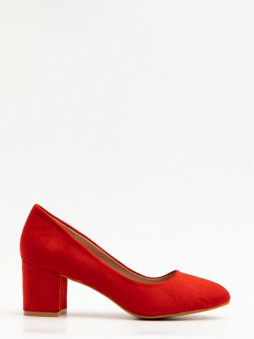 Pantofi cu toc cod X21-237 Red