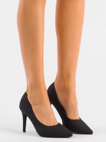 Pantofi cu toc cod XKK250A Black