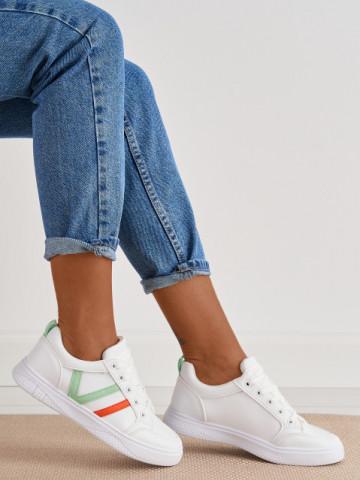 Pantofi sport cod 1210-6 White/Green