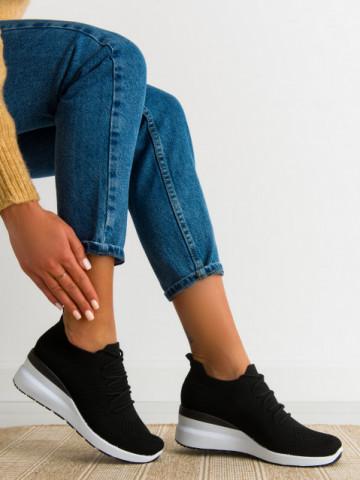 Pantofi sport cod 2043 Black